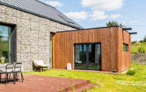 Extension maison en bois