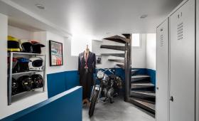 Rénovation de maison escalier métallique (91)