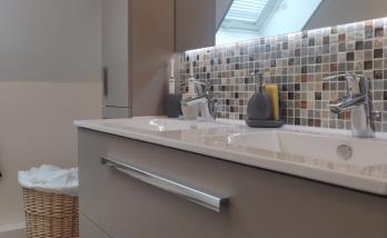 Salle de bain mosaique en Essonne