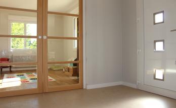 Rénovation maison porte à galandage Essonne
