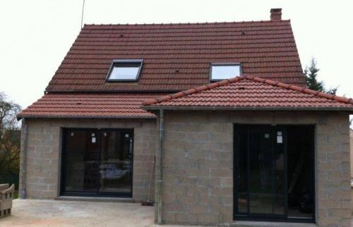 Maison après extension