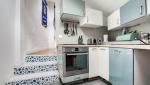 Rénovation de cuisine béton ciré gris