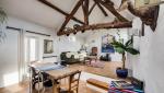 Rénovation de maison avec conservation des poutres apparentes (91)