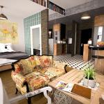 Quand le studio accueille un coin chambre La Maison Des Travaux de Sainte-Geneviève-des-Bois